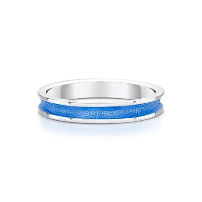 Sheila Fleet - Halo Ring (enamel colour shown in Blue)