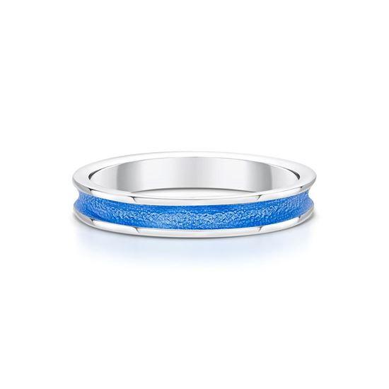 Sheila Fleet - Halo Ring (enamel colour shown in Blue)