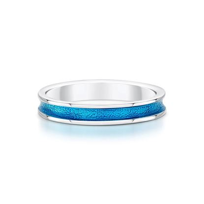 Sheila Fleet - Halo Ring (enamel colour shown in Tropical)