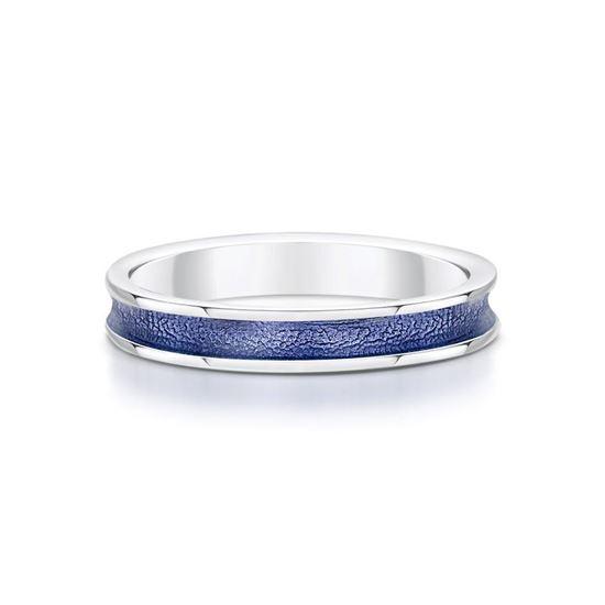 Sheila Fleet - Halo Ring (enamel colour shown in Purple)