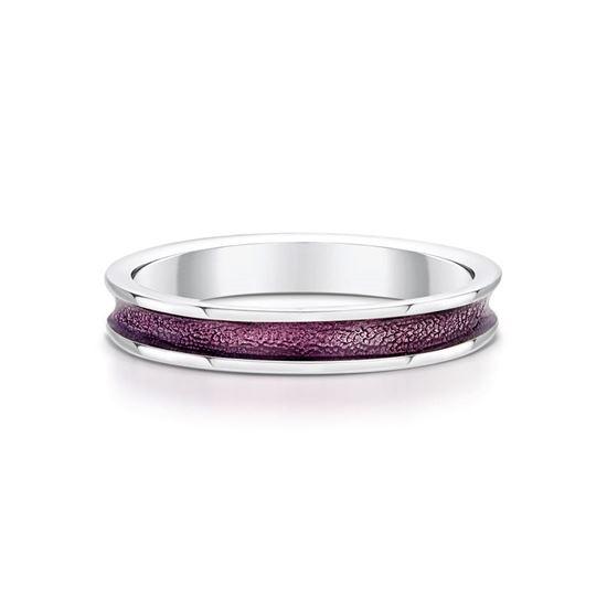 Sheila Fleet - Halo Ring (enamel colour shown in Pink)
