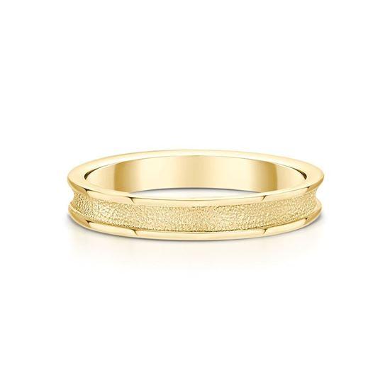 Sheila Fleet - Halo Ring (shown in 9ct Yellow Gold)