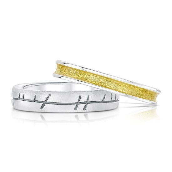 Sheila Fleet - Halo Ring Set (enamel colour shown in Yellow)