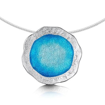 Sheila Fleet - Lunar Pendant (enamel colour shown in Tropical)