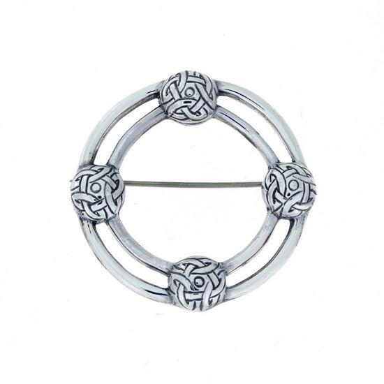 Alexander Ritchie - Celtic Silver Brooch