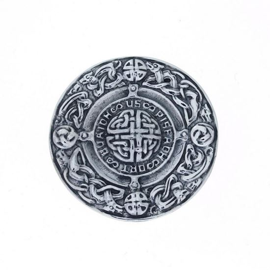 Alexander Ritchie - Celtic Silver Brooch