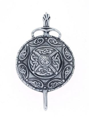 Alexander Ritchie - Silver Celtic Brooch