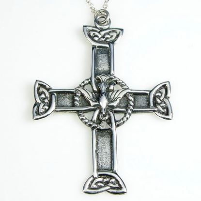 Alexander Ritchie - Dove Cross Pendant
