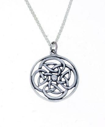 Alexander Ritchie - Silver Celtic Pendant
