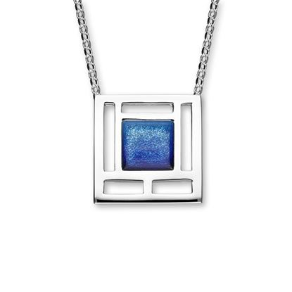 Ortak - Frank Lloyd Wright Necklet (shown in Oasis enamel)