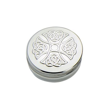 Celtic Cross Trinket Box - 50mm